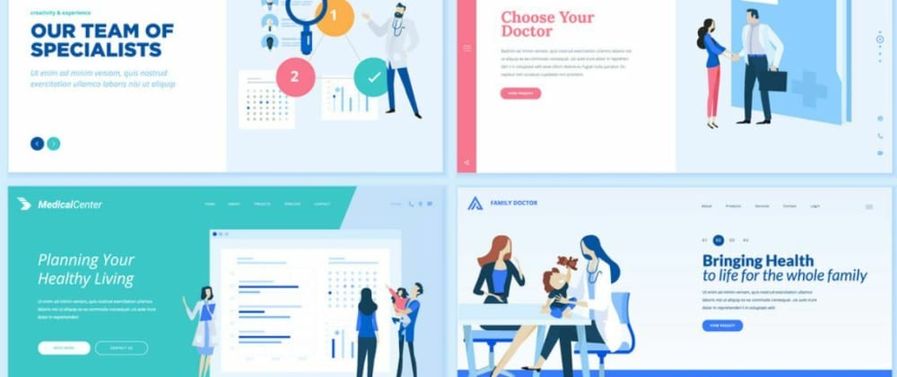 Cover image for 10+ Must-Have Healthcare Website Features [2021]