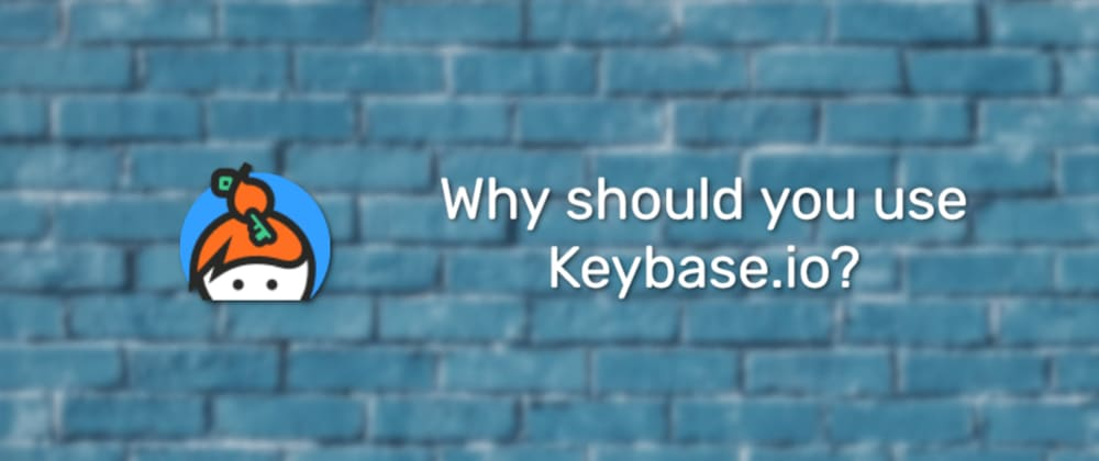 Cover image for Keybase overview 🔐