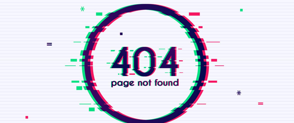Cover image for 28 Creative 404 pages for your Inspiration 🧙♂️✨
