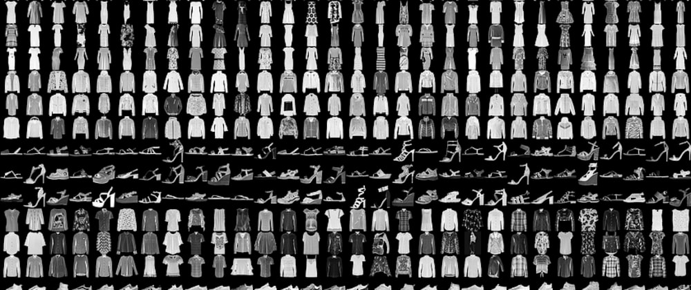 Cover image for Machine Learning - Fashion MNIST dataset - Prologue