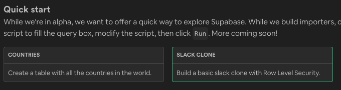 Slack Clone Quick Start