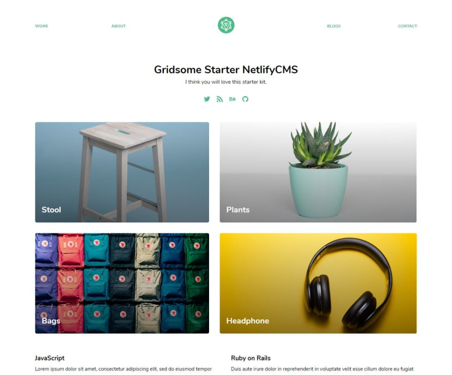 How to integrate Netlify CMS with Gridsome? - DEV Community 👩 💻👨 💻