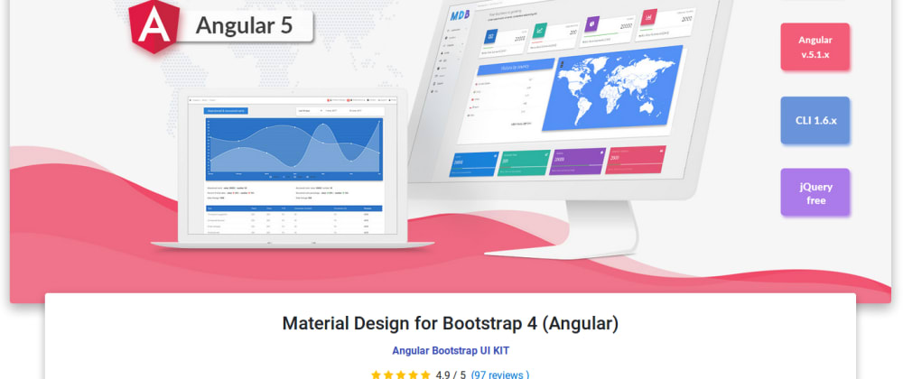 Cover image for Steps For Integrating MD Bootstrap In Jhipster Project