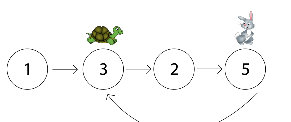 Cover image for Floyd's Tortoise and Hare Algorithm: Finding a Cycle in a Linked List