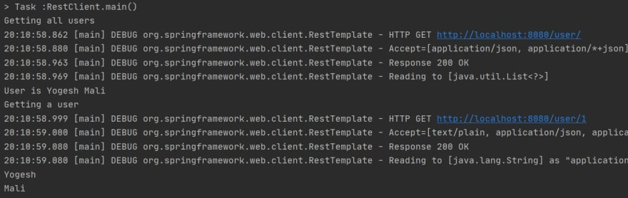 Using Rest Template with Basic Authentication Response