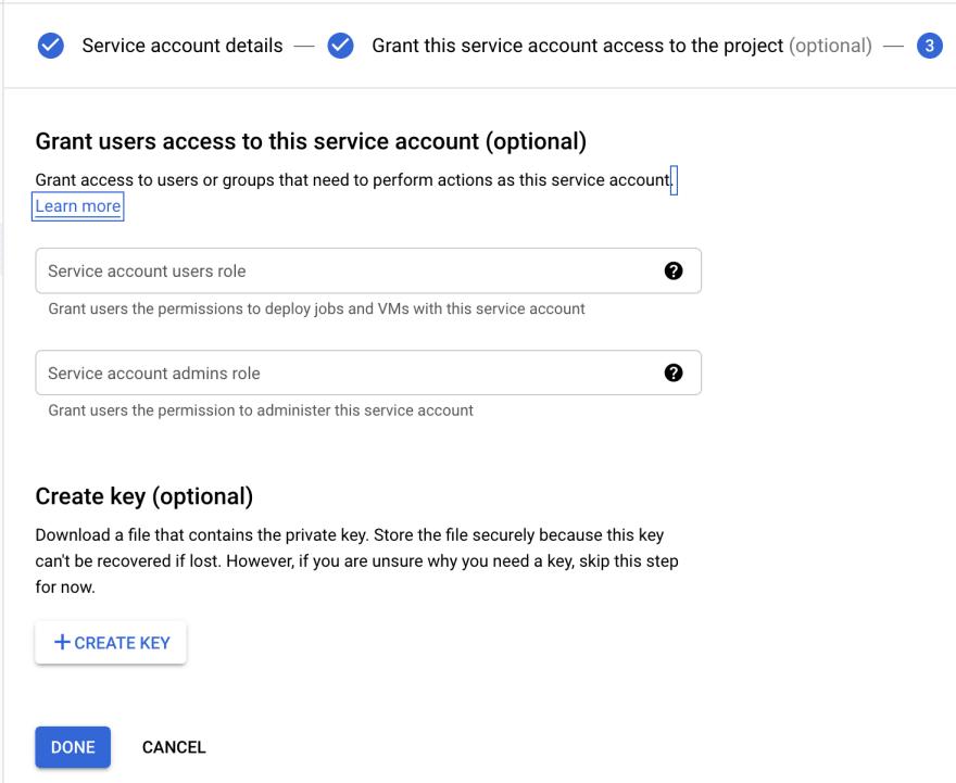 Service Account