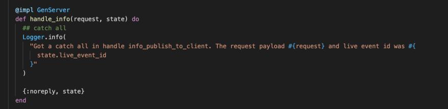 Protocol code bug
