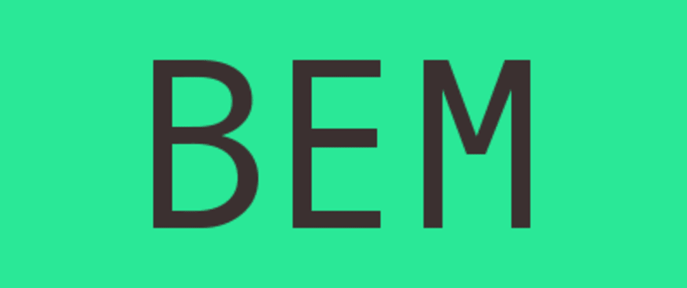 Cover image for Rule SCSS with BEM (Block.Element.Modifier) methodology