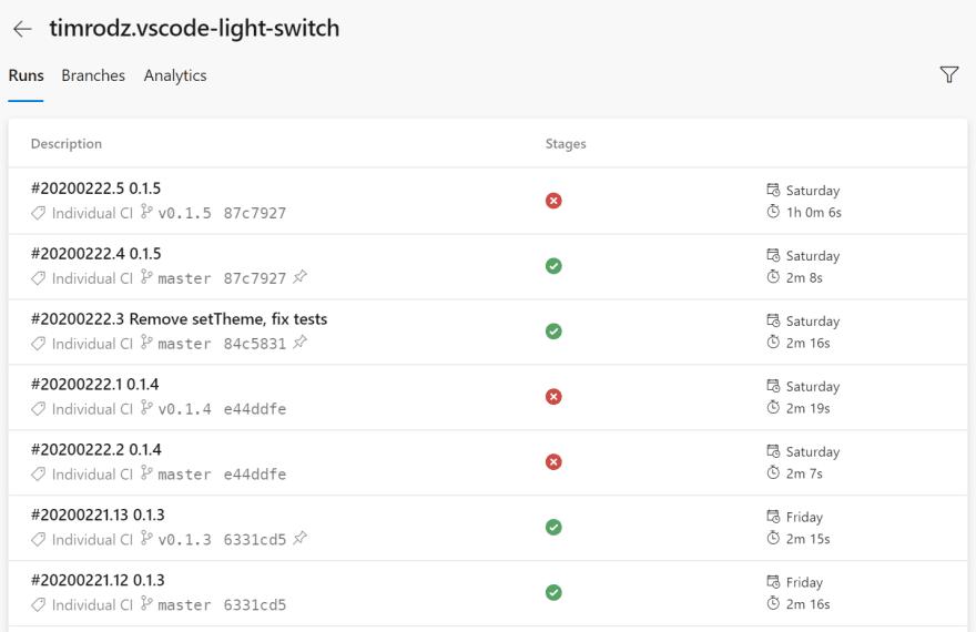 Build pipeline on Azure DevOps