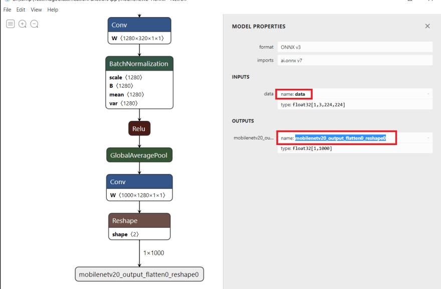 Model input/output