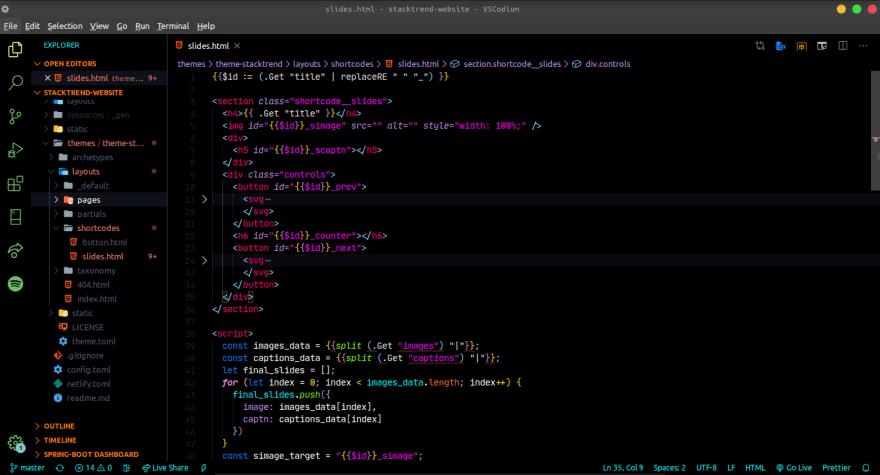 code snap
