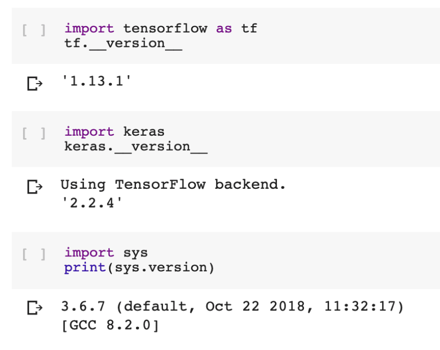 Setup your Raspberry Pi Model B as Google Colab (Feb '19) to work with Tensorflow, Keras and OpenCV