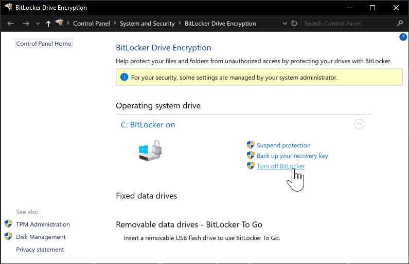 Decrypt BitLocker OS drive of corrupted windows installation