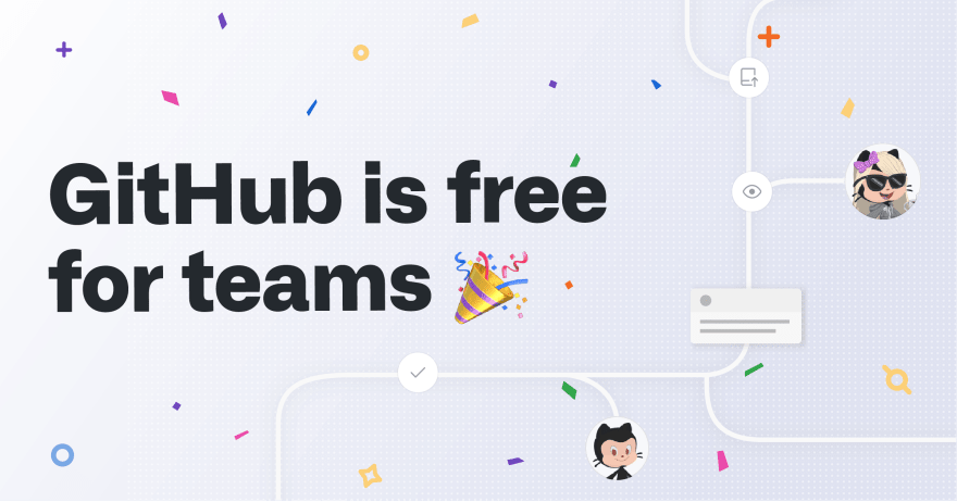 GitHub is free for teams
