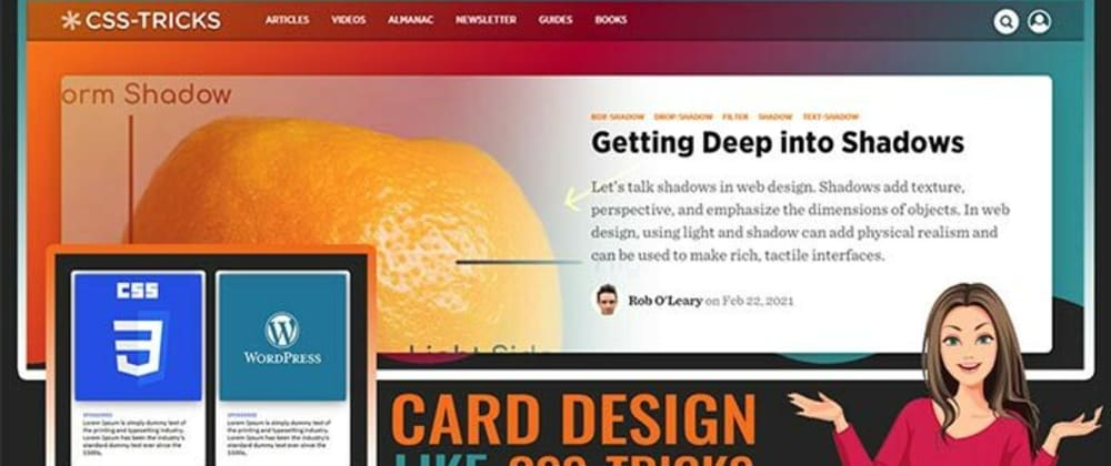 Cover image for Card Design like CSS tricks