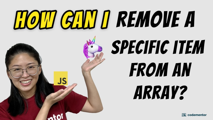 javascript video tutorial remove element from array