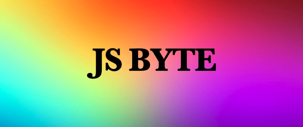 Cover image for JSByte: Type conversion in JavaScript