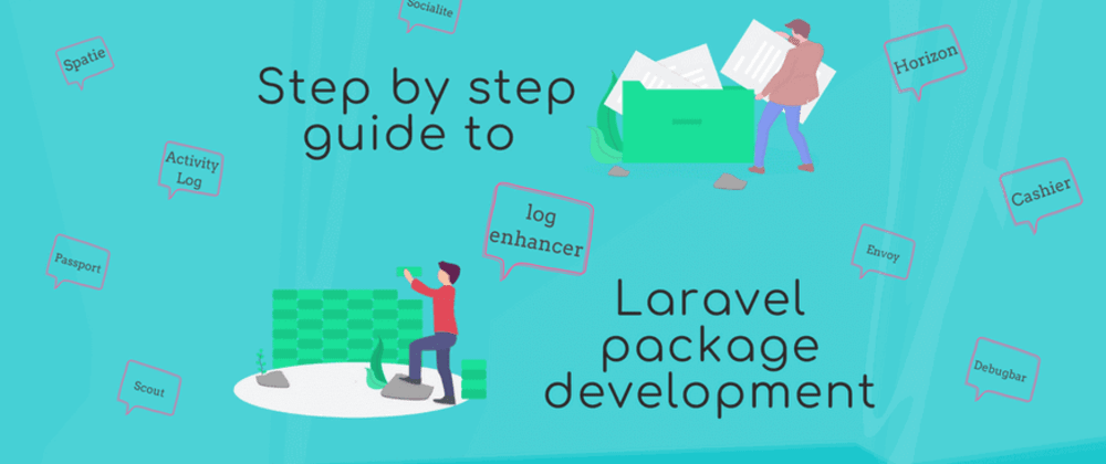 Cover image for Step by step guide to Laravel package development