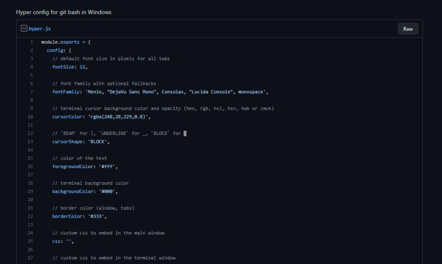 Hyper config file Image
