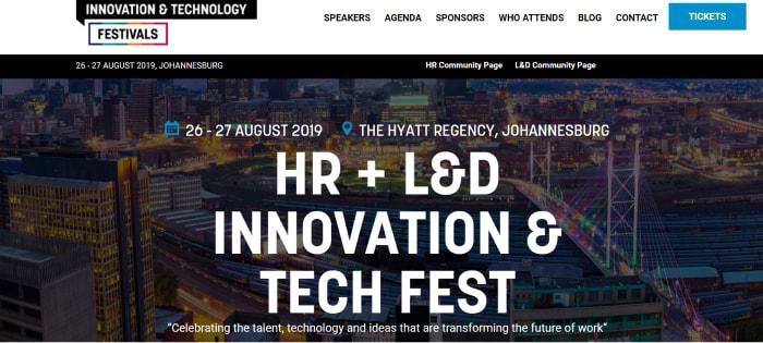 Johannesburg HR Innovation & Tech Fest