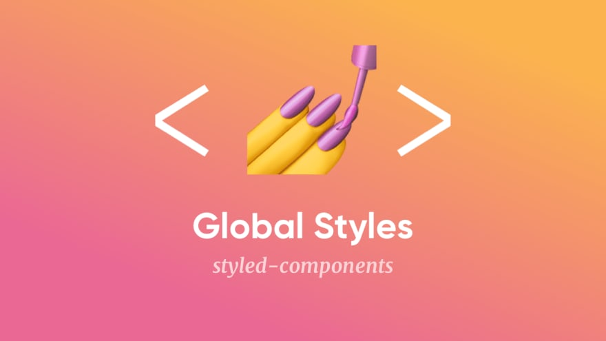 Global styles in styled-components