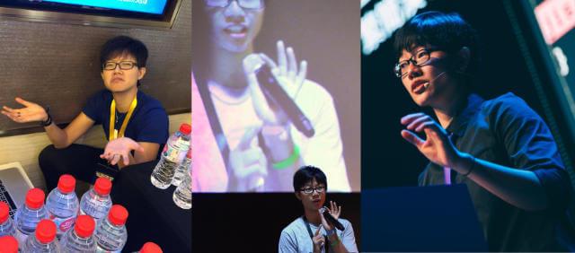 Volunteering, hosting and speaking at conferences