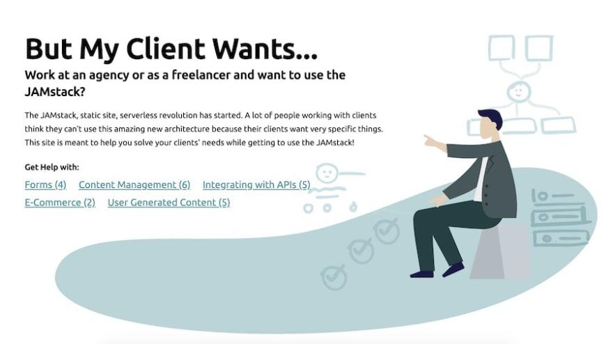 MyClientWants.com banner