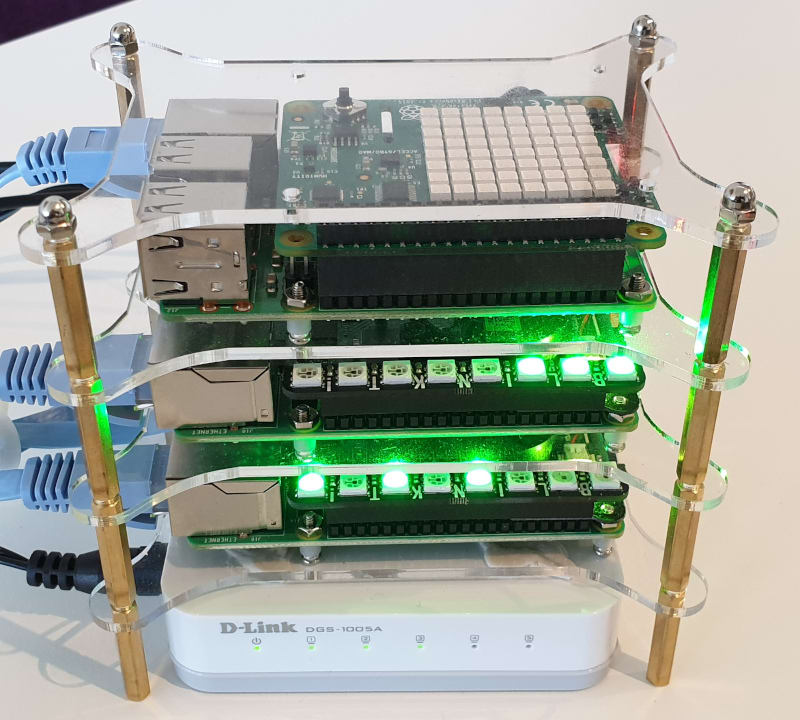 Raspberry Pi Kubernetes Cluster