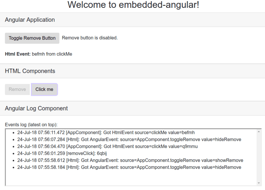 Embedding Angular Components into a Legacy Web App - DEV Community
