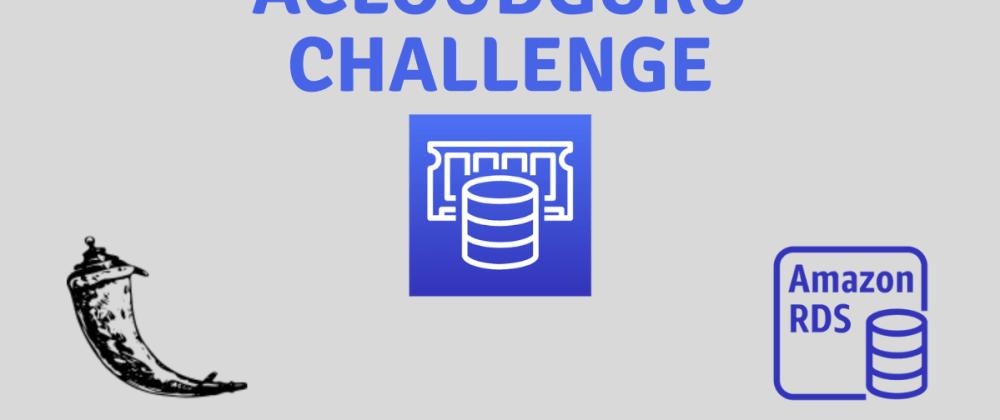 Cover image for #ACloudGuru ElastiCache Challenge