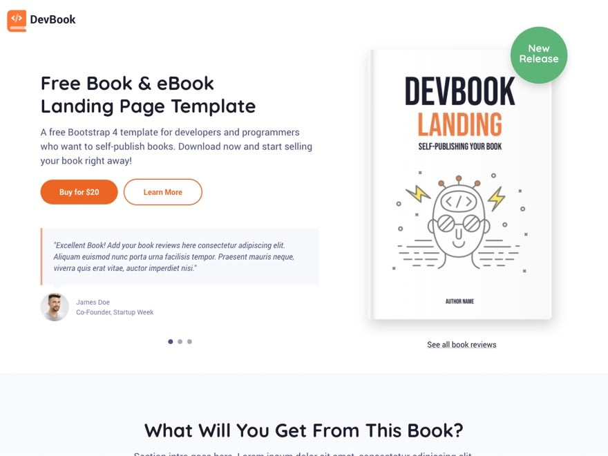 DevBook Template