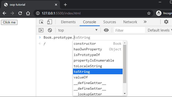 prototype property