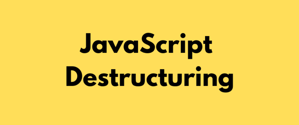 Cover image for Object Destructuring in JavaScript for Beginners 🛴