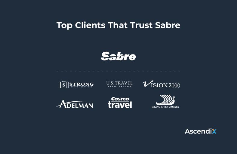 Top Clients That Trust Sabre
