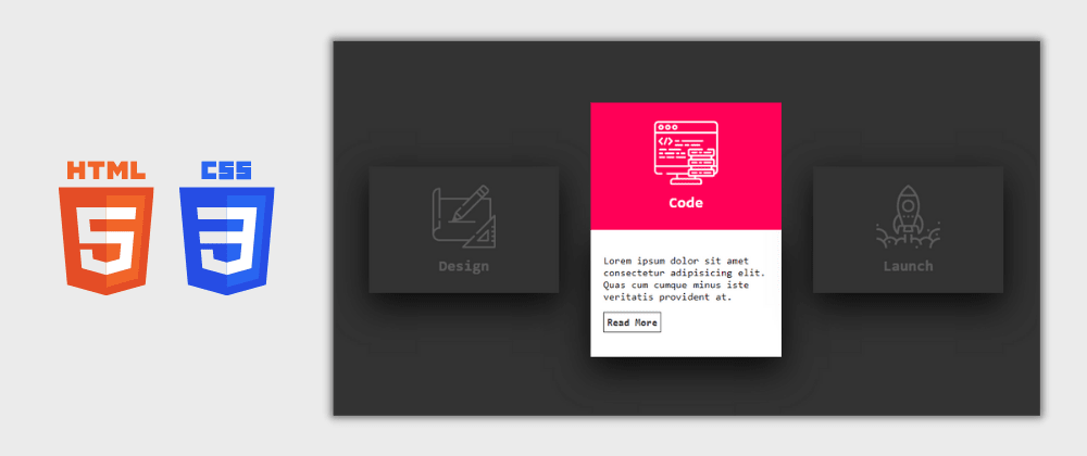 Cover image for Day 29/30 : Awesome CSS Card Hover Effects Using HTML and CSS