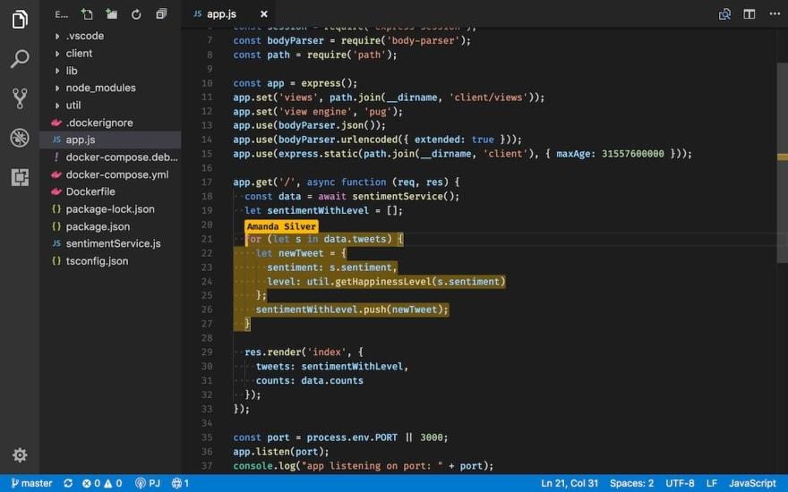Visual Studio preview Image