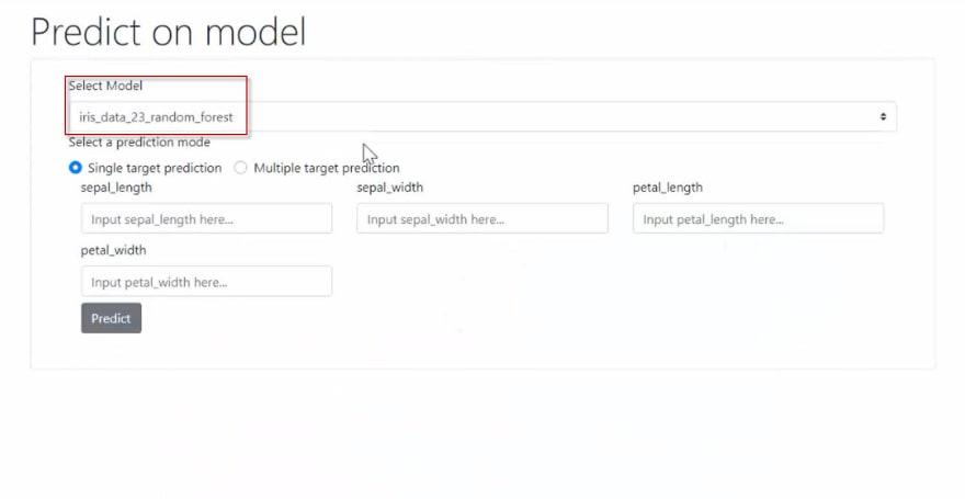 SelectModelPredict