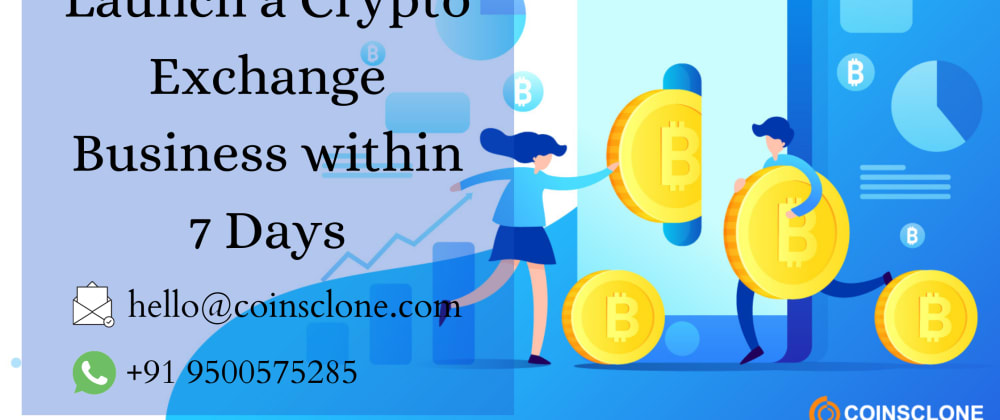 Cover image for How to launch a crypto exchange platform with the cryptocurrency exchange script?