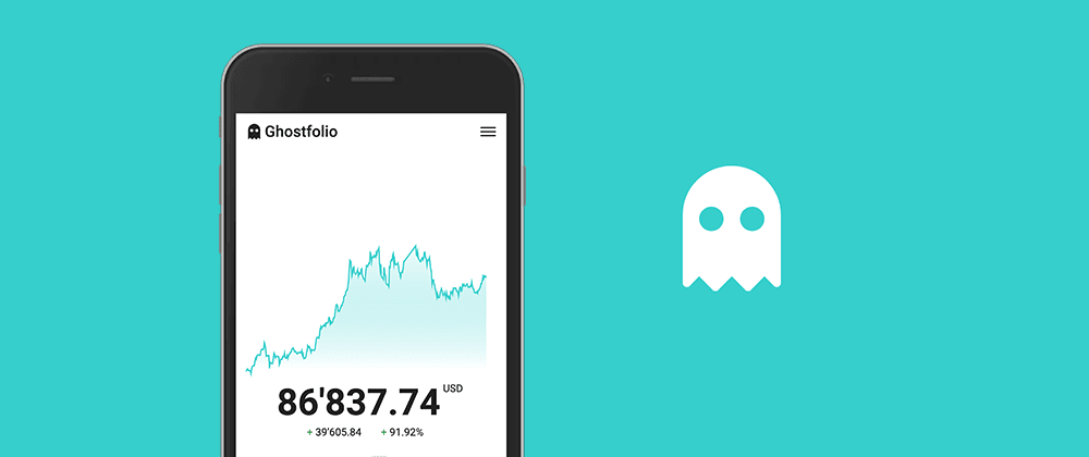 Cover image for Hello Ghostfolio 👋 — Personal Finance Management Software
