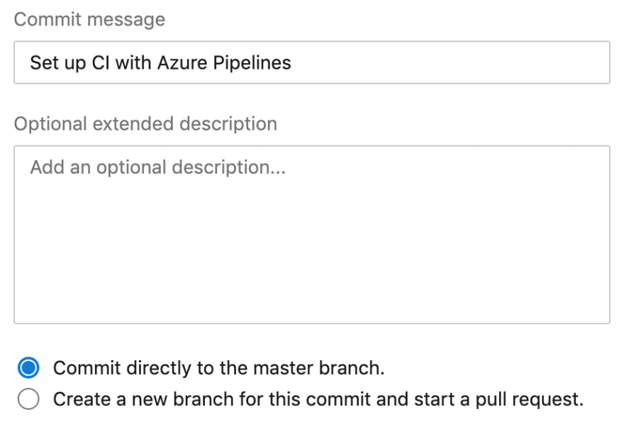 Creating a Build Pipeline