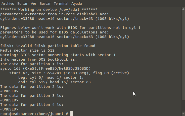 FreeBSD's fdisk