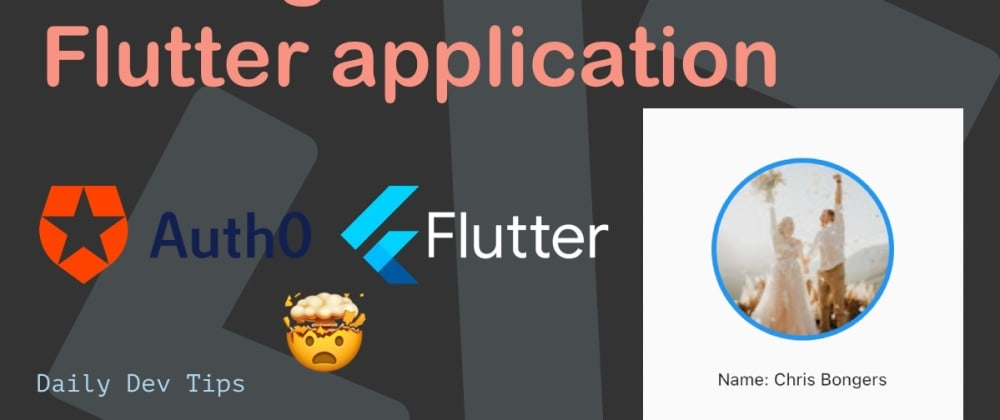 Cover image for Adding Auth0 to a Flutter application