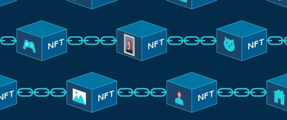 Cover image for The tech stack behind the development of an NFT Marketplace