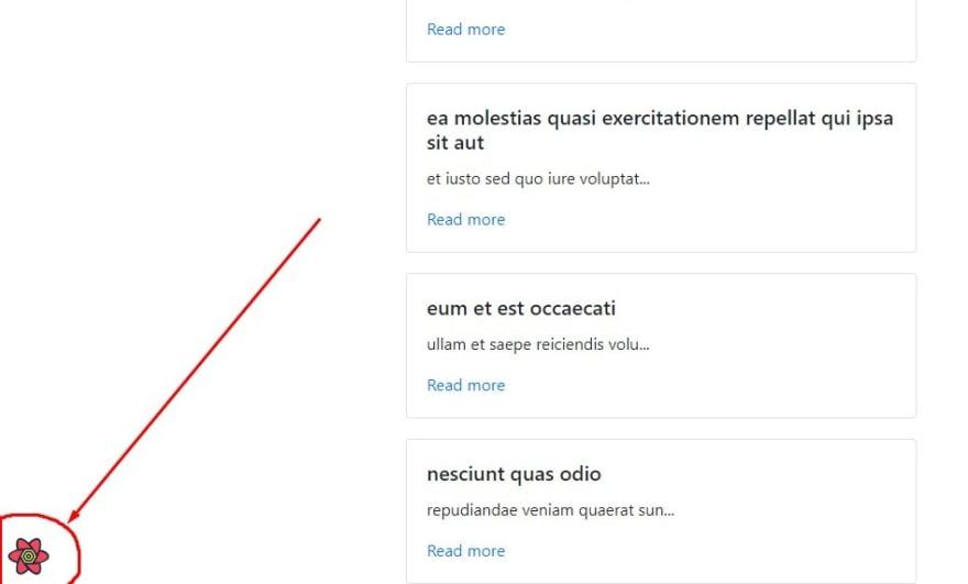Open react-query devtools