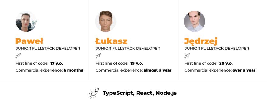 junior software developers