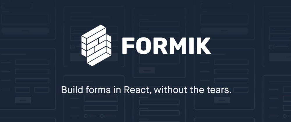 Cover image for Form Validation Using Formik and Yup in React