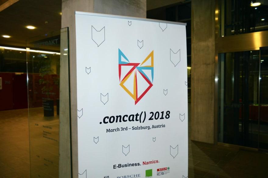 concat() 2018 banner