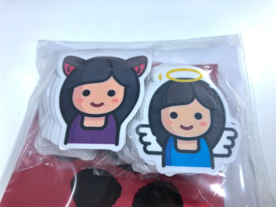 Elisha's avatar stickers, from StickerHD