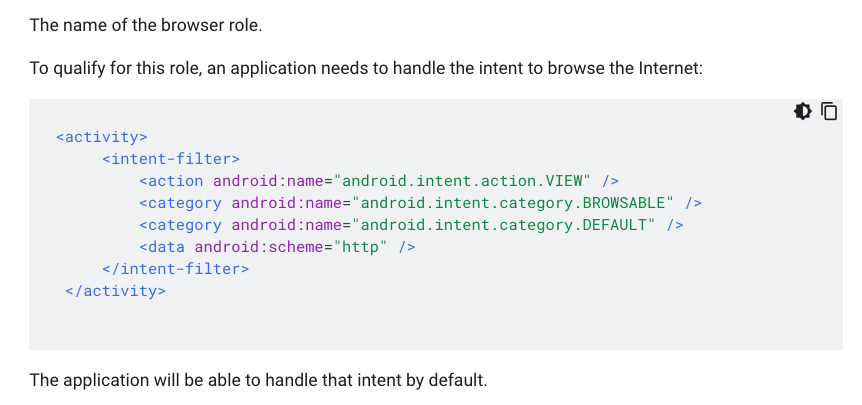 Definition of ROLE_BROWSER