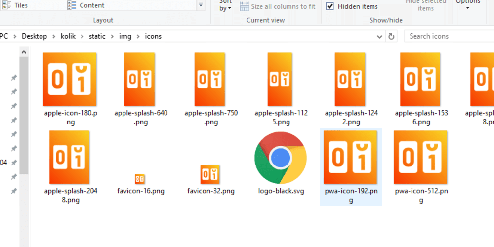 Hassle free PWA icons and splash screen generation - DEV